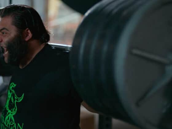 Patrik Baboumian bricht Weltrekord vegan