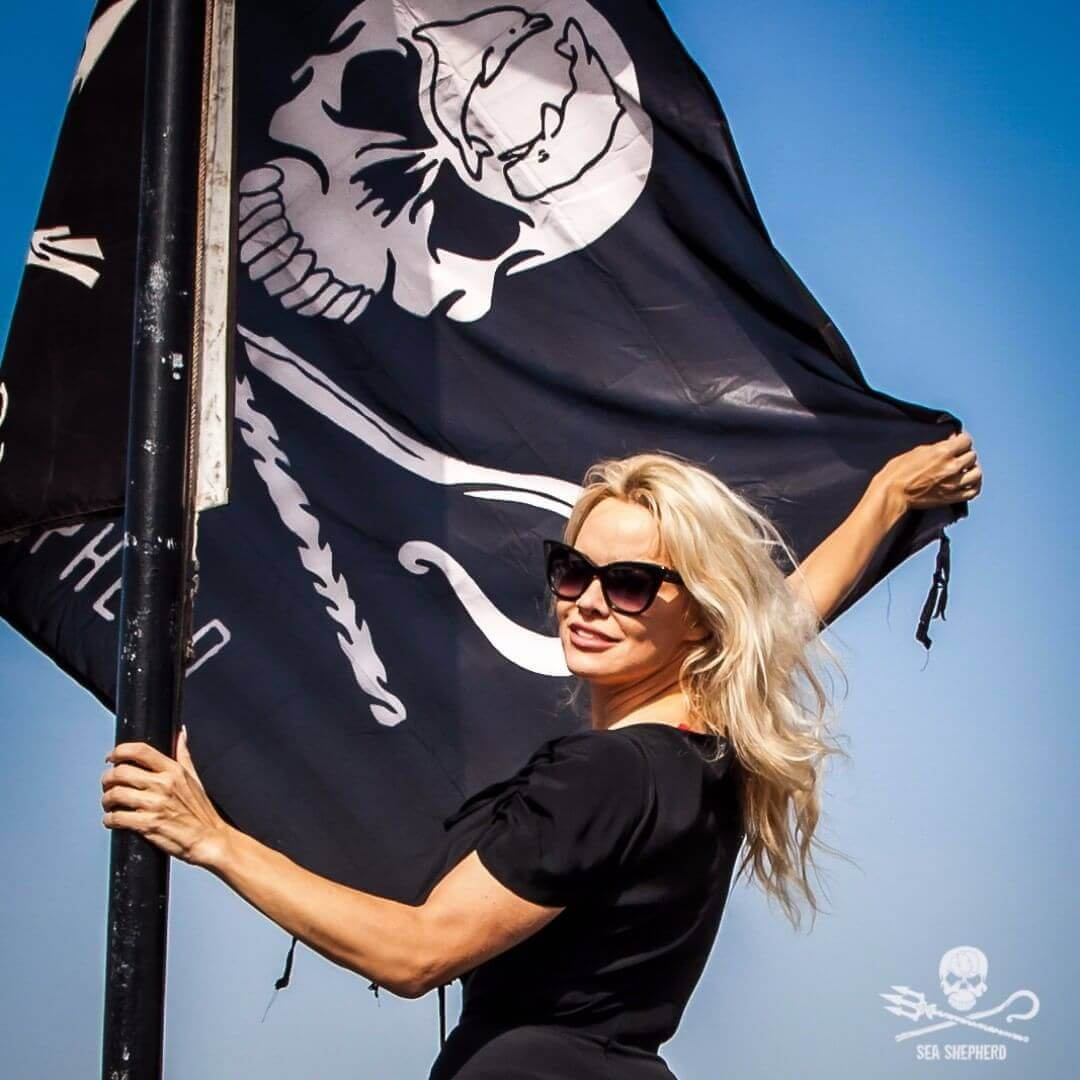 Pamela Anderson für Sea Shepherd